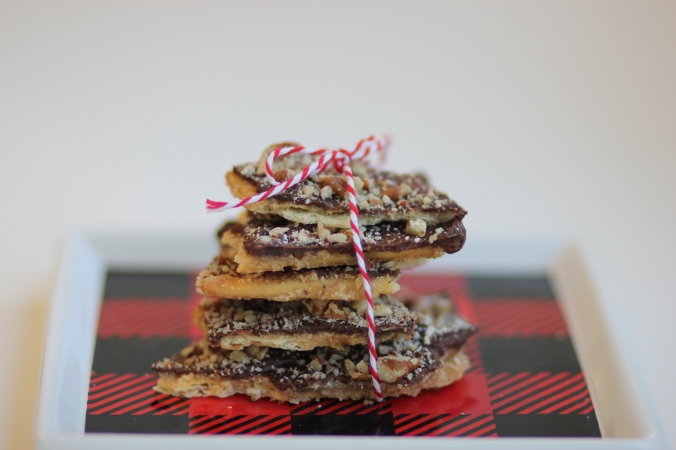Soda Cracker Toffee {Gluten Free}