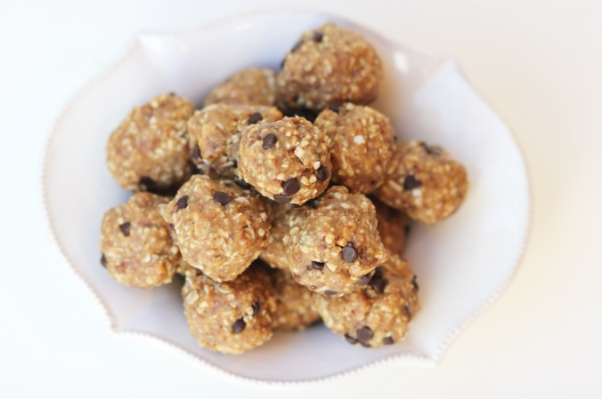 Peanut Butter Protein Poppers {GF Version}