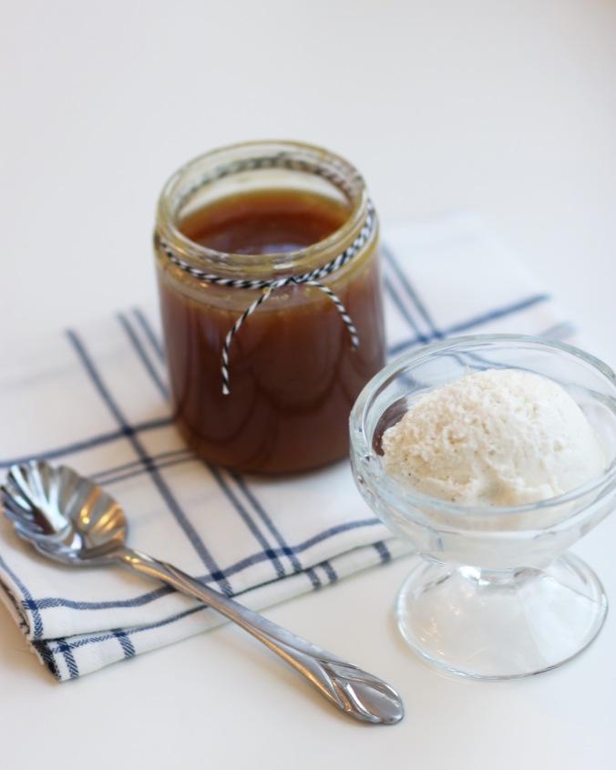 Homemade Buttermilk Caramel Sauce {Gluten Free}
